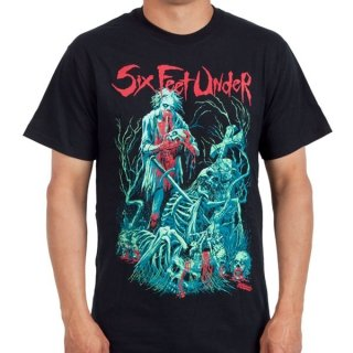 SIX FEET UNDER Undead, Tシャツ