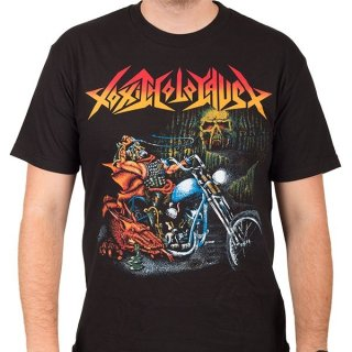 TOXIC HOLOCAUST Ride Like Hell, Tシャツ