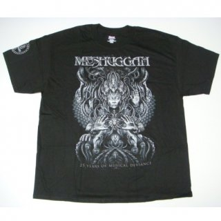 MESHUGGAH 25 Years of Musical Deviance Hands, Tシャツ