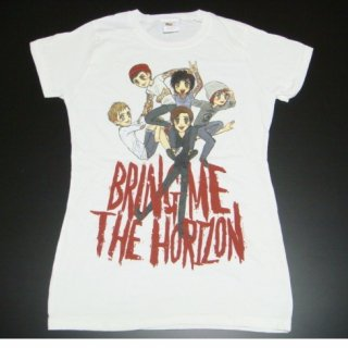 BRING ME THE HORIZON Sketch Pile WHT, レディースTシャツ<img class='new_mark_img2' src='//img.shop-pro.jp/img/new/icons20.gif' style='border:none;display:inline;margin:0px;padding:0px;width:auto;' />