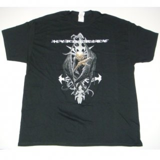 HYPOCRISY Evil Cross New Logo, Tシャツ