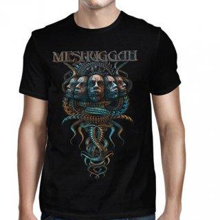 MESHUGGAH Heads-pine Logo, Tシャツ