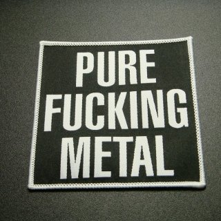 ARCH ENEMY Pure Fucking Metal, パッチ