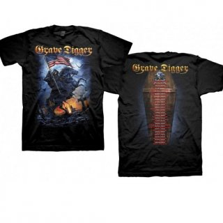 GRAVE DIGGER Usa 2015 Tour Dates, Tシャツ
