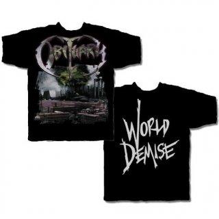 OBITUARY World Demise, Tシャツ