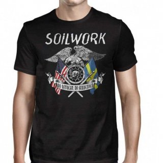 SOILWORK American Guts Swedish Glory, Tシャツ