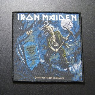 IRON MAIDEN Benjamin Breeg, パッチ
