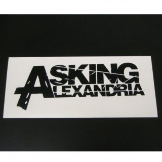 ASKING ALEXANDRIA Logo, ステッカー