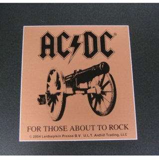 AC/DC For Those About To Rock, ステッカー