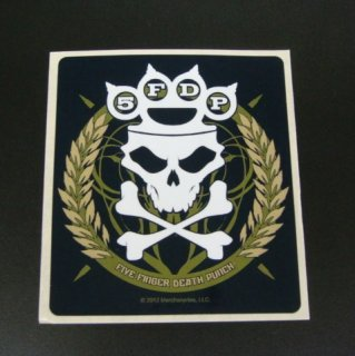 FIVE FINGER DEATH PUNCH Skull, ステッカー