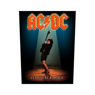 AC/DC Let There Be Rock, バックパッチ