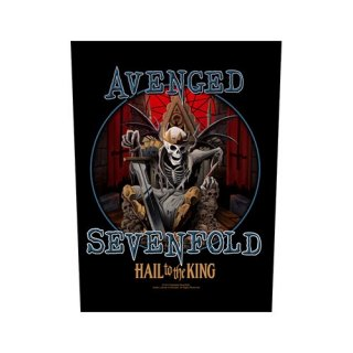 AVENGED SEVENFOLD Hail To The King, バックパッチ