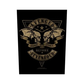 AVENGED SEVENFOLD Orange County, バックパッチ
