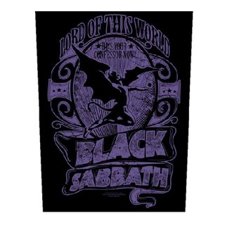 BLACK SABBATH Lord Of This World, バックパッチ