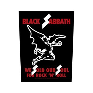 BLACK SABBATH We Sold Our Souls, バックパッチ