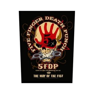 FIVE FINGER DEATH PUNCH Way Of The Fist, バックパッチ