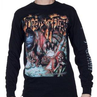 DEEDS OF FLESH Inbreeding The Anthropophagi, ロングTシャツ