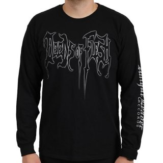 DEEDS OF FLESH Glow Logo, ロングTシャツ