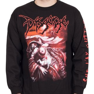 DISGORGE She Lay Gutted, ロングTシャツ