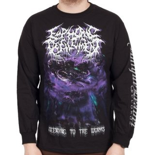 EUPHORIC DEFILEMENT Ascending To The Worms, ロングTシャツ