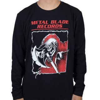METAL BLADE RECORDS Old School Reaper, ロングTシャツ