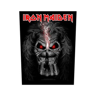 IRON MAIDEN Eddie Candle Finger, バックパッチ