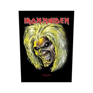 IRON MAIDEN Killers / Eddie, バックパッチ