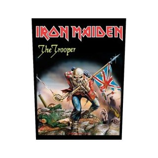 IRON MAIDEN The Trooper, バックパッチ