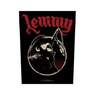 LEMMY Microphone, バックパッチ