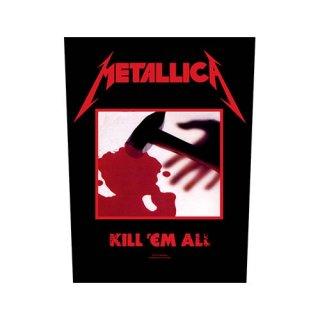 METALLICA Kill 'em all, バックパッチ