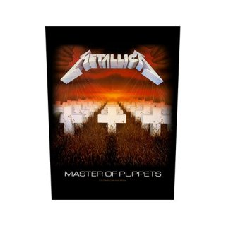 METALLICA Master of Puppets, バックパッチ