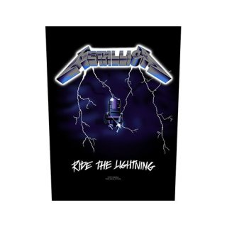 METALLICA Ride the Lightning, バックパッチ