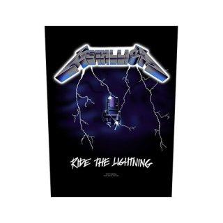 METALLICA Ride the Lightning, バックパッチ