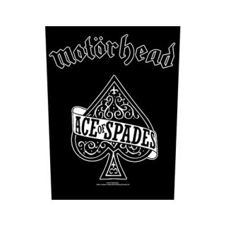 MOTORHEAD Ace Of Spades, バックパッチ