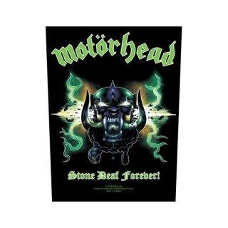 MOTORHEAD Stone Deaf Forever, バックパッチ