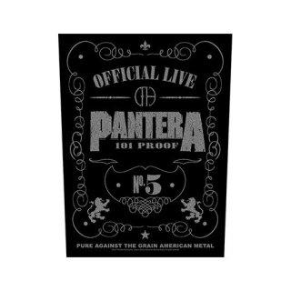 PANTERA 101 Proof, バックパッチ