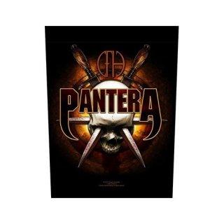 PANTERA Skull Knives, バックパッチ
