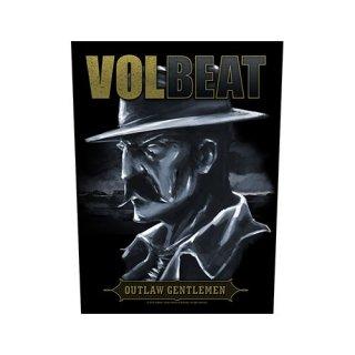 VOLBEAT Outlaw Gentlemen, バックパッチ