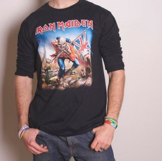 IRON MAIDEN Trooper, ロングTシャツ