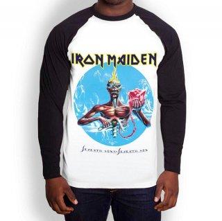 IRON MAIDEN Seventh Son, ラグランロングTシャツ