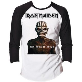 IRON MAIDEN The Book of Souls, ラグランロングTシャツ