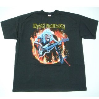 IRON MAIDEN Fear Live Flames, Tシャツ