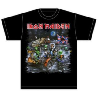 IRON MAIDEN Knebworth Moon buggy, Tシャツ