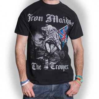 IRON MAIDEN Sketched Trooper, Tシャツ