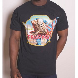 IRON MAIDEN Trooper Robinsons Beer, Tシャツ