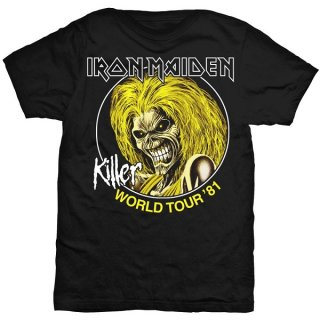 IRON MAIDEN Killer World Tour 81, Tシャツ