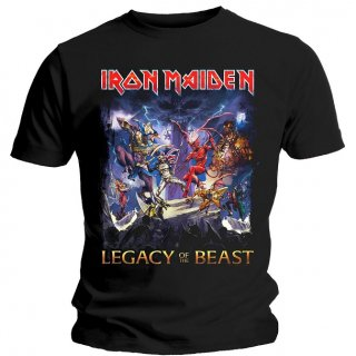 IRON MAIDEN Legacy of the Beast, Tシャツ