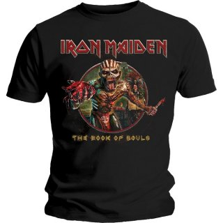IRON MAIDEN Book of Souls Eddie Circle, Tシャツ
