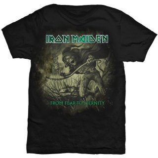 IRON MAIDEN From Fear To Eternity Distressed, Tシャツ
