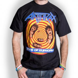 ANTHRAX State of Euphoria, Tシャツ